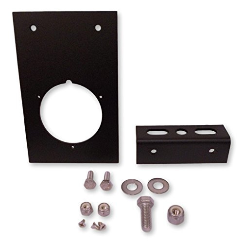 250-FF-BR Right Weigh Exterior Load Scale Bracket - For 250 Series Flange  Mount Gauges