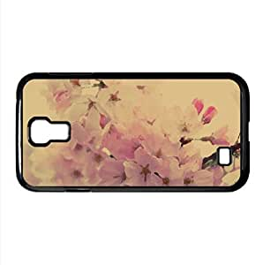 Cherry Pink Flowers Watercolor style Cover Samsung Galaxy S4 I9500 Case (Spring Watercolor style Cover Samsung Galaxy S4 I9500 Case)