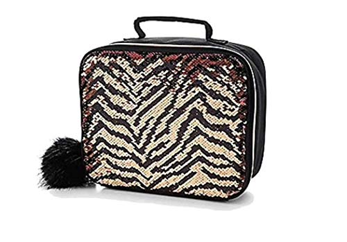 Justice for Girls Flip Sequin Tiger Insulated Lunch Tote