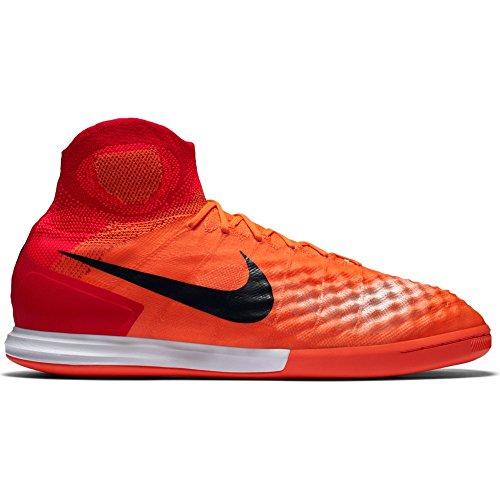 Calzado De Fútbol Para Interiores Nike Hombres Magistax Proximo Ii Zapatos De Fútbol Negro / Totalcrimson