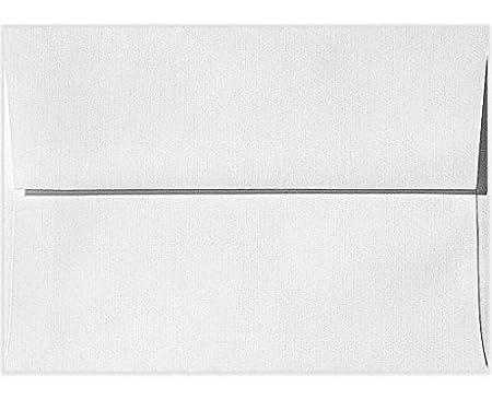 80lb Paper 5x7 Photos 100/% Cotton Sending Cards 5 1//4 x 7 1//4 Bright White 4880-SW-50 Printable A7 Invitation Envelopes w//Peel /& Press | Perfect for Invitations 50 Qty