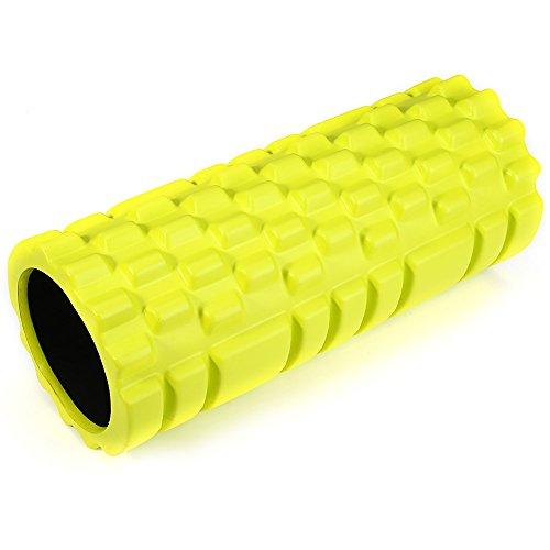 Leopard Shop point d'EVA Yoga Rouleau de mousse pour fitness Maison Gym Pilates physiothérapie Massage