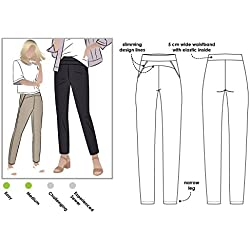 Style Arc Sewing Pattern - Sage Stretch Pant (Sizes 04-16) - Click for Other Sizes Available