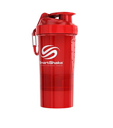 Original 2GO Bottle, 20 oz Shaker Cup, Neon Red