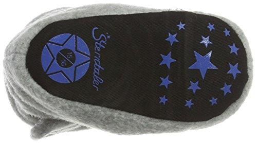 Sterntaler Unisex Baby Stiefel Grau (Silber-melange 542)