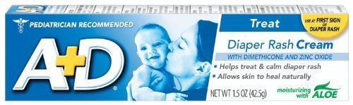 A+D Medicated Diaper Rash Cream With Aloe - 1.5 Oz by MERCK CONSUMER CARE by MERCK CONSUMER CARE