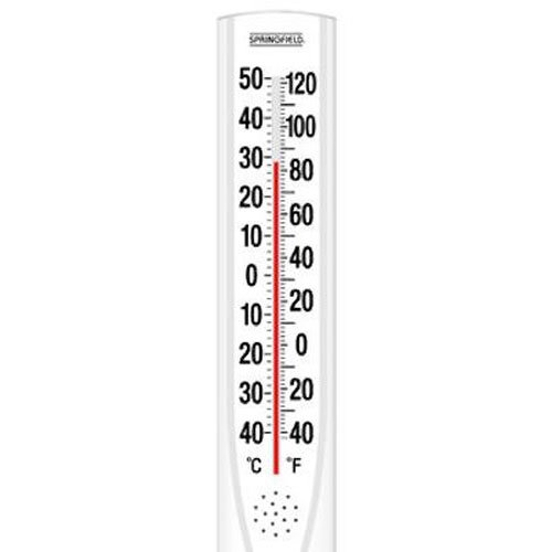 (Springfield Big and Bold Vertical Thermometer (15-Inch))