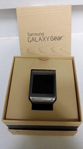 Samsung Galaxy Gear Smartwatch- Retail Packaging - Jet Black (Samsung Jet)