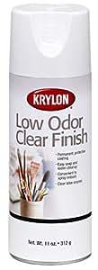 Krylon K07110 11-Ounce Low Odor Clear Gloss Finish Aerosol Spray