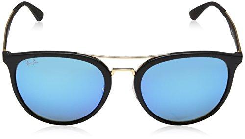 Ray Sonnenbrille RB Light Green Matte Blue Noir 4285 Black Ban PArqwP