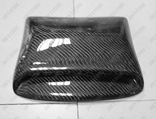 (FidgetFidget Hood Bonnet Roof Scoop Vent Air Duct 22cmx24cmx5cm Universal Carbon Fiber #003)