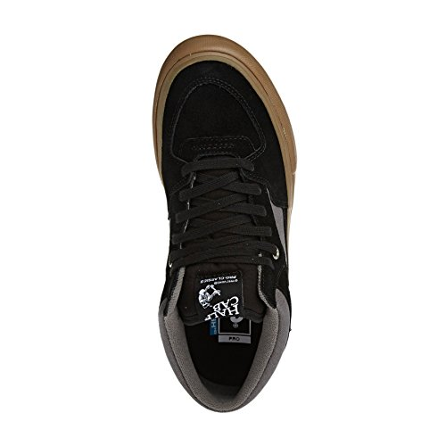 48a1b03428a3dc Vans Women s Half Cab Pro Skate Shoes Black Pewter 10.5 B(M) US Women   9  D(M) US  Buy Online at Low Prices in India - Amazon.in