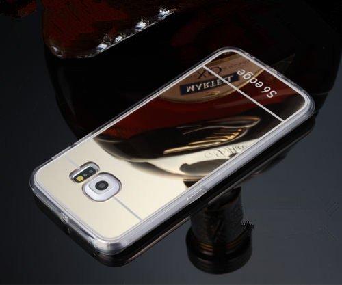 reputable site a97ab 8f022 Inspirationc® Samsung Galaxy S6 Edge Luxury Metal Plating Aluminum Bumper  Super Slim Mirror Metal Case for Samsung Galaxy S6 Edge Metal Aluminum ...
