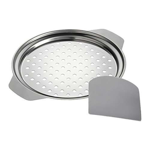 Westmark Spaetzle Top with Scraper, Silver 61112240