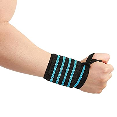 MTTito Bracers Sports Bracers Basketball Volleyball Bracers Breathable Bracers Reduces sports injuries Sweat-absorbent wristbands Adjustable wristbands Healthy exercise Estimated Price £12.04 -