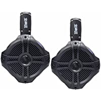 Absolute MPS65B Marine RV 6.5 200W RMS Wake Tower POD Enclosure Speaker (Black)