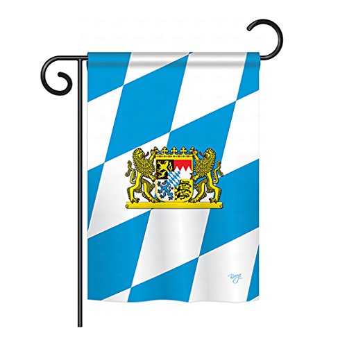 Breeze Decor G158202 Bavaria Flags of The World Nationality Impressions Decorative Vertical Garden Flag 13