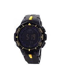 Casio Mens Pro Trek TWIN SENSOR COMPASS Analog-Digital Dress Solar Watch (Imported) PRG-300-1A9