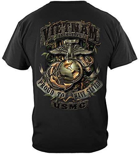 (Erazor Bits USMC hat pin | USMC Vietnam Green Jungle Them Shirt ADD81-MM2148L)