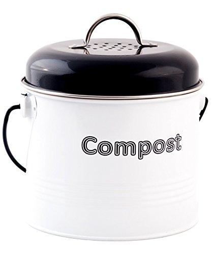countertop compost bins black 6