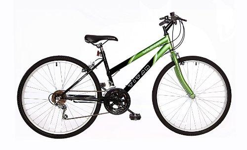 Titan Wildcat Ladies Mountain Bike Lime Green/Black