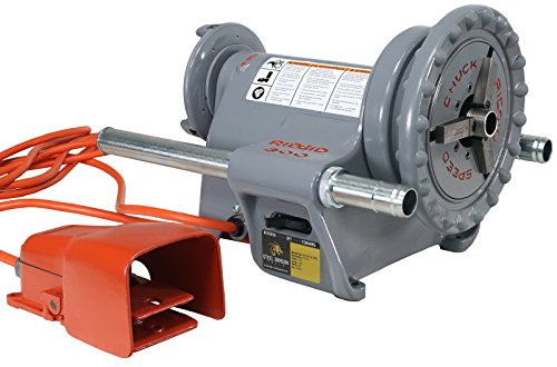 (RIDGID 300 Power Drive 41855 Threading Machine with Foot Pedal (Renewed))