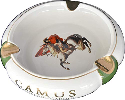 H&H Illustrious Collection - Camus - Napoleon White & Green Cigar Ashtray