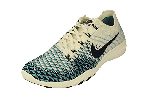 NIKE Womens Free TR Flyknit 2 Indigo Running Trainers 904656 Sneakers Shoes (UK 5.5 US 8 EU 39, Sail College Navy 104)
