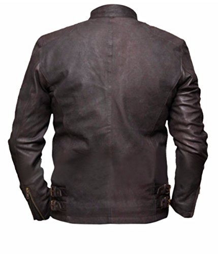 America Captain Cuir Veste Skin Rogers Feather Marron Civil War Homme De Steve OnPIFwxF