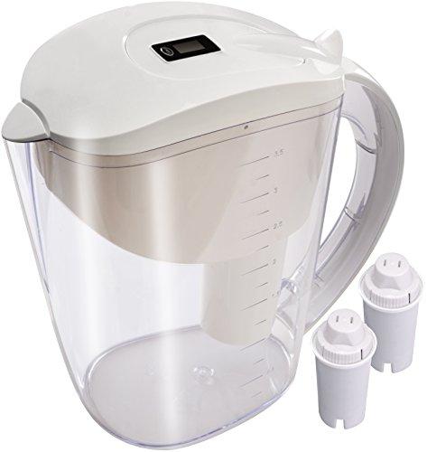 Alkaline Water Pitcher - 3.5 L Capacity - Ext...