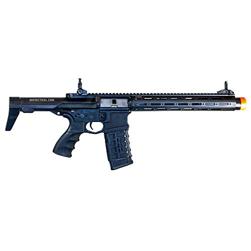 G&G Combat Machine PDW15 AR M4 Carbine Full Metal AEG Airsoft Gun (Black)