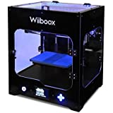 "Wiiboox CCP0000011 ONE MINI Desktop 3D Printer, Single Extruder, 100 microns, 7.8"" x 5.9"" x 5.9"", 1 Air Particle Filtration Module, Metal Frame Structure, Black/White/Yellow/Blue/Green/Brown"