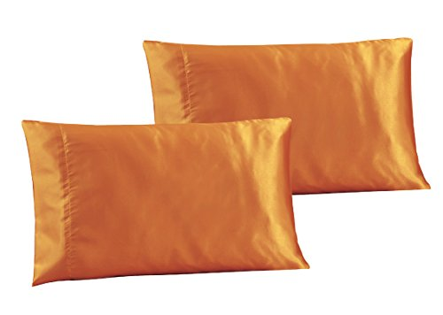 2-Piece Hair Beauty Pillowcases - QUEEN / STANDARD Size Soli