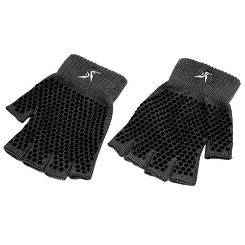 Prosource Fit Grippy Yoga Gloves, One Size