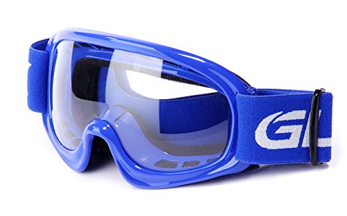 Motocross Motorcycle (GLX Youth Kids Sports Motocross Dirt Bike Motorcycle Off Road Racing ATV Goggles (Blue))