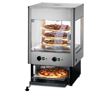 Lincat umo50 vertical climatizada Merchandiser con rotación de y ...