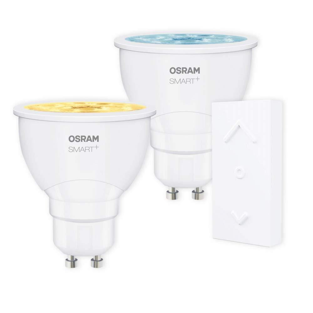 OSRAM SMART+ SWITCH KIT GU10 Tunable Weiß LED dimmbar + Dimmschalter weiß Auswahl 2er Set