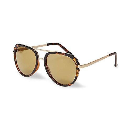 Steve Madden Women's Smm87273 Tortoise 320 - Sunglasses Madden Steve Aviator