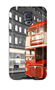 Hot Tpye London Bus Case Cover For Galaxy S5