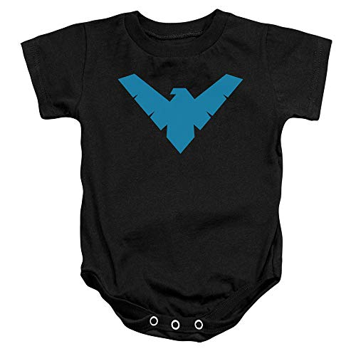 Nightwing Logo -- Batman -- Infant One-Piece Snapsuit, 24 Months