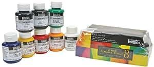Liquitex Professional Soft Body Acrylic Paint Classic Jar 8-piece Set
