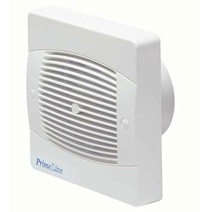 Primeline PEF4040 - Ventilador extractor con sensor de humedad y temporizador