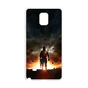 Samsung Galaxy Note 4 Cell Phone Case White battlefield 4 lonely game art G2D9CA