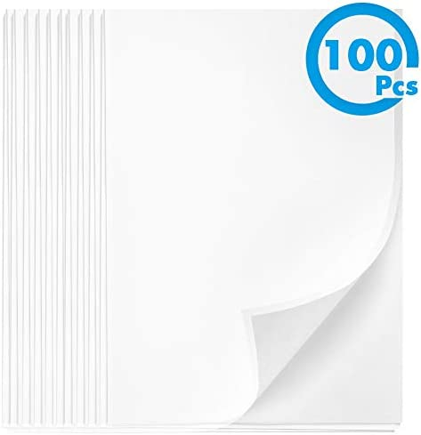 Vellum Paper 8.5 x 11 Translucent, Cridoz 100 Sheets Transparent Clear Vellum Paper Translucent Tracing Drafting Paper Printable Vellum Sheets for Printing Sketching Drawing Animation