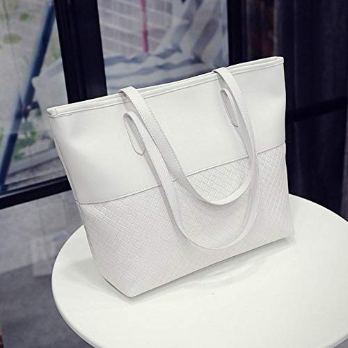 Travel Messenger White Classic Celebrity Casual Large Gray Handbag Bag Bag Ladies Outsta Color Basic Leather Women Shoulder Backpack Daypack Pure gvwWx7HqC