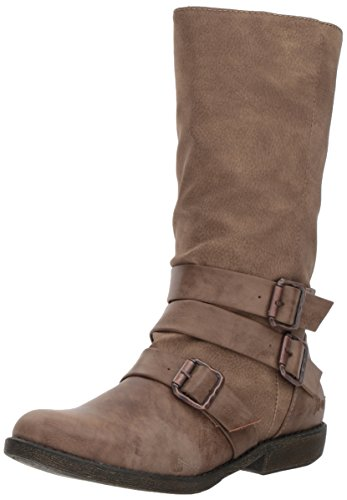 Blowfish Women's Angel Boot, Taupe Lonestar PU/Saddle Rock PU, 7.5 M US