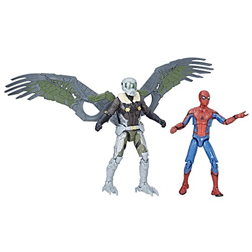 Spider-Man Marvel Legends Homecoming Vulture Figures 2-Pack, 3.75-inch