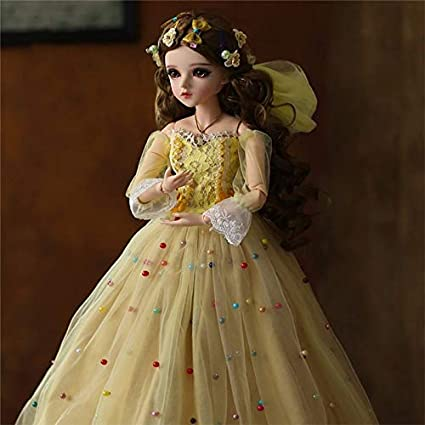 6f5266a51ea0c Amazon.com: Tini Dolls - Doll 1/3 Brown Eyes with BJD Clothes Wigs ...
