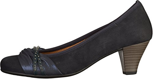 Gabor Women's Fashion Closed Toe Heels, Pazifik/Ocean Blue (Pazifik/Ocean 36)