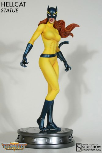Bowen Designs Hellcat Painted Statue